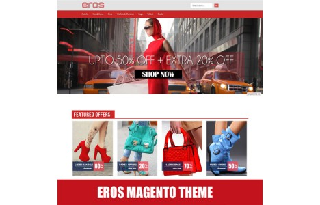 EROS Free Theme for Magento
