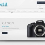 Digital Store Magento Template is a design for electronic, camera, mobile and computer stores
