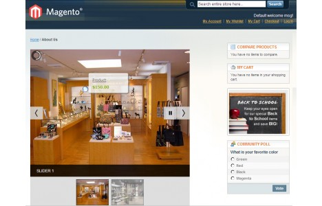 Products Lookbook – Theme magento free