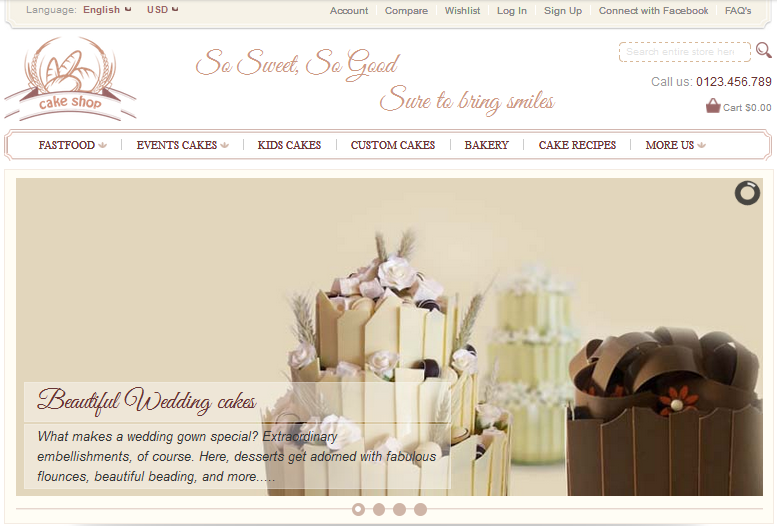 magento bakery theme preview
