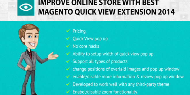 Improve online store with Best Magento Quick View Extension 2014