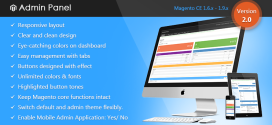 Magento Responsive Admin Template by CMSmart