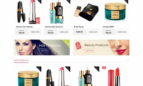 10+ Best Responsive Magento Themes for Cosmetic Store
